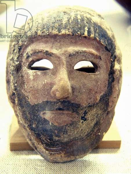 Mask from Akhsiv, Dagon (terracotta)
