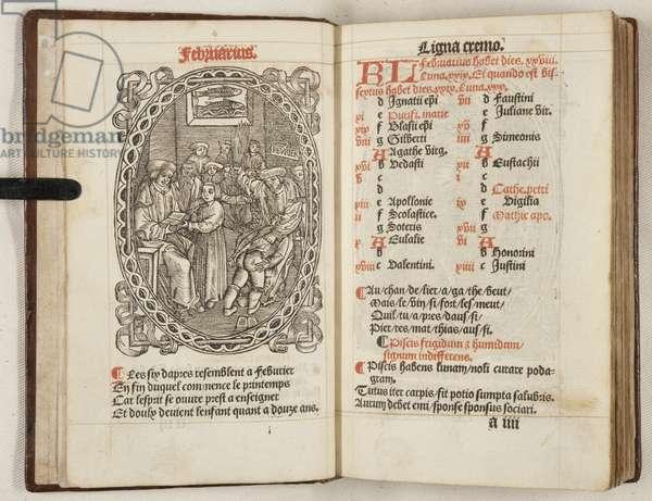 Li Patenostre que nostre seigneur Jesuchrist fist, 1560 (engraving)