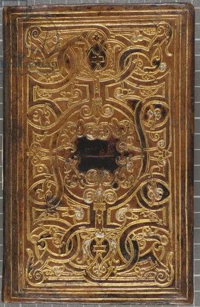 Li Patenostre que nostre seigneur Jesuchrist fist, 1560 (leather-bound volume)