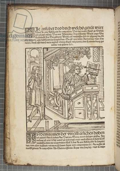 Das Buch zu Distillieren (engraving)