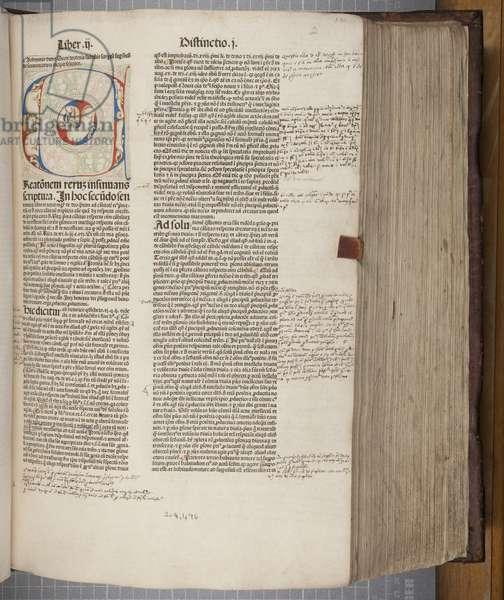 Fol 131, Quaestiones in quattuor libros Sententiarum, by John Duns Scotus (vellum)
