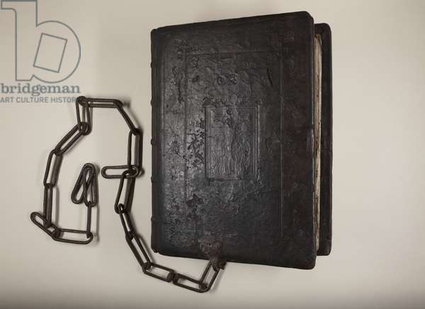 Foundation Bible of St Leonard's College (leather)