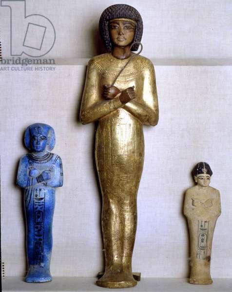 Shawabti of Tutankhamun, Thebes - Museum of Egypt, Cairo