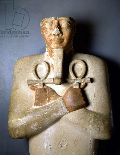 Osiriac Pillar of Sesostris I, Karnak - Museum of Egyptian Art, Luksor (or Luxor)