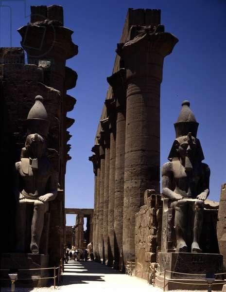 Colonnade Temple - Louksor or Luxor