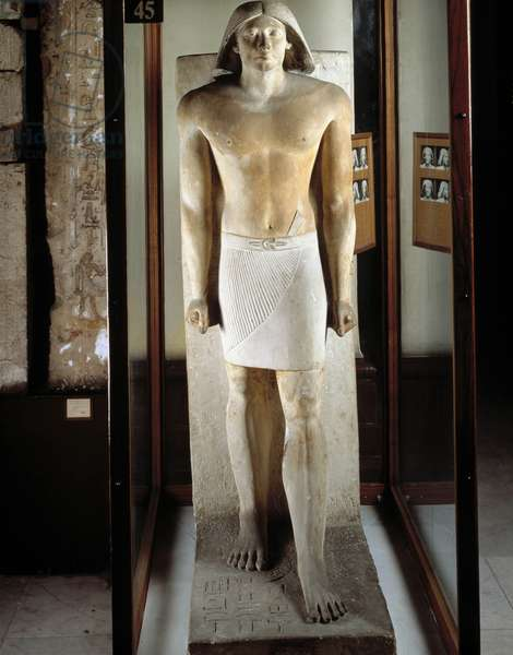 Ranefer, Saqqara (Sakkara) - Museum of Egypt, Cairo
