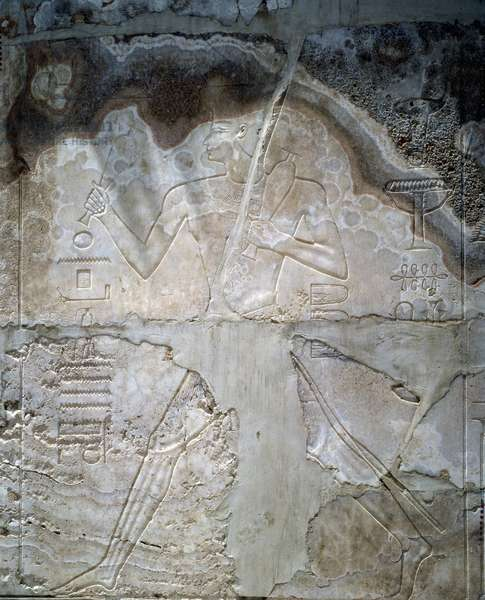 Karnak Shrine of Amenhotep: Relief.