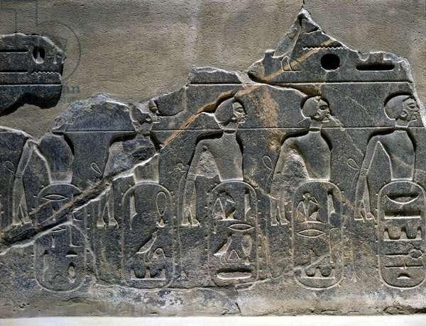 Temple: Scenes with Prisoners - Louksor or Luxor