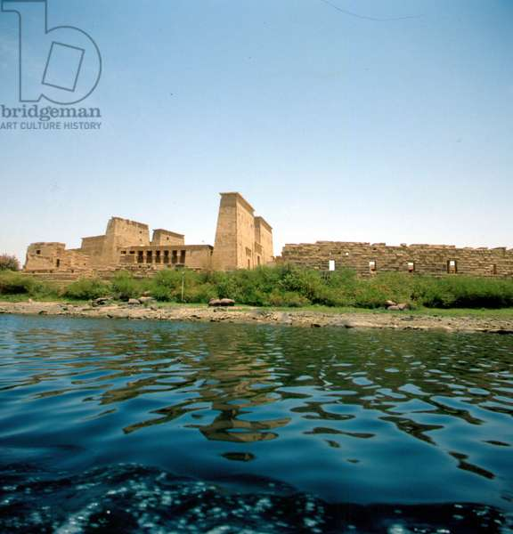 Philae: Temple of Isis, View of the Nile