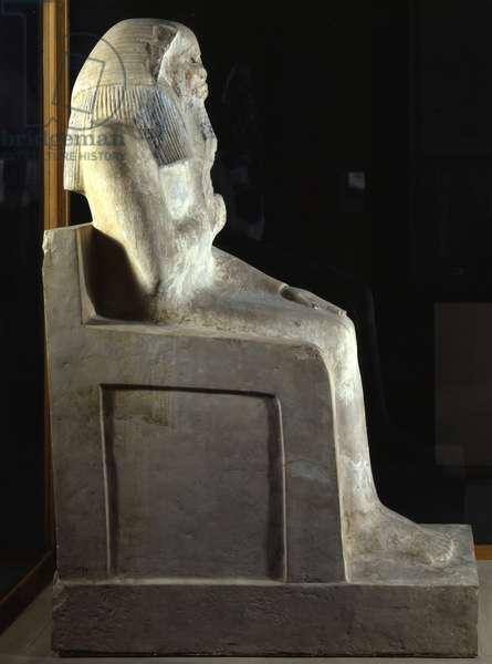 King Djoser (=Zoser or Djeser) - Museum of Egypt, Cairo