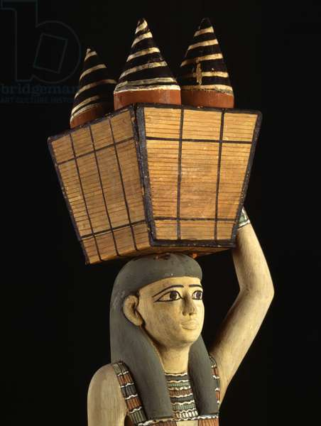 Carrier of Offerings (detail), Thebes - Museum of Egypt, Cairo