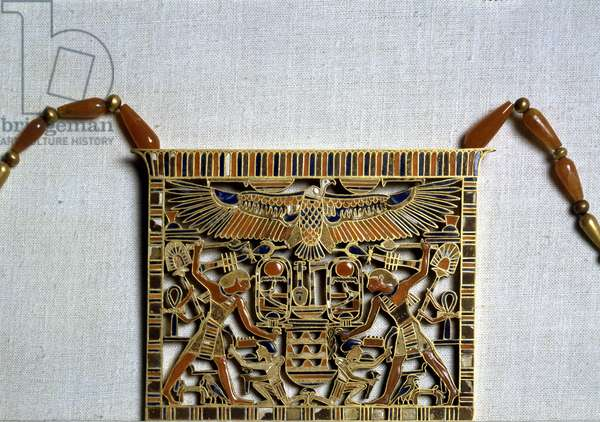 Pendant with the name of Ammeres III, Dahshur - Museum of Egypt, Cairo