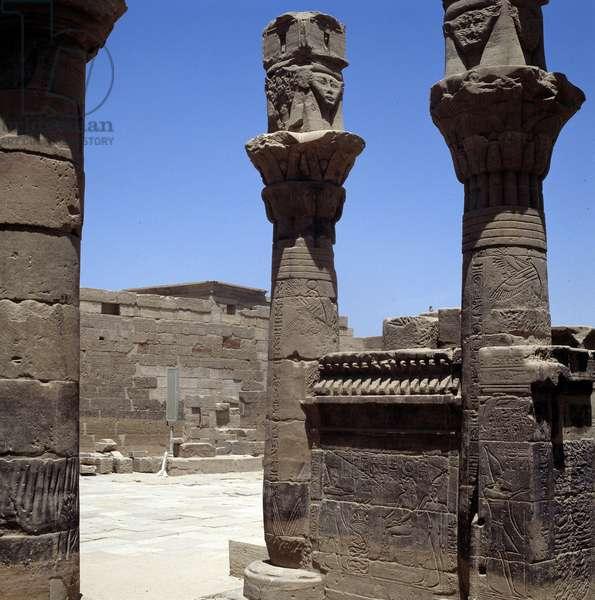 Philae: Temple of Isis, Pavillion of Nectanebo I