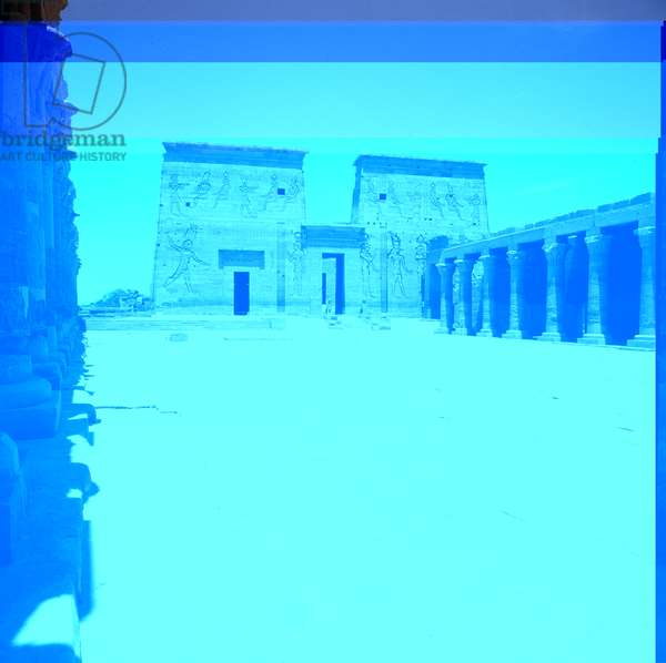 Philae: Temple of Isis, Dromos