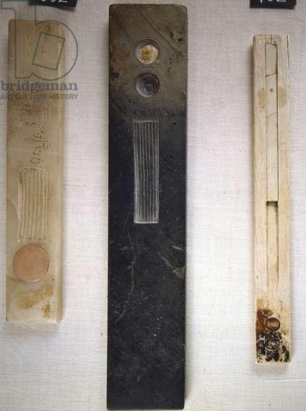 Shale Scribe Palette, Tell Ruba - Egyptian Museum, Cairo