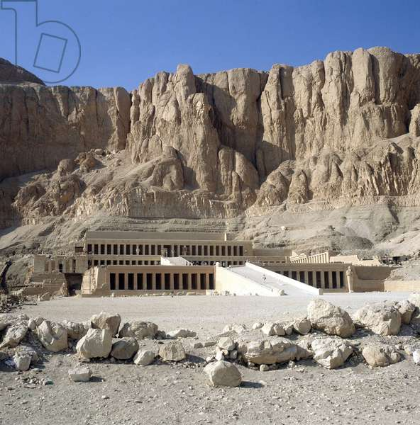 Thebes - Deir al-Bahari: Temple of Hatshepsut (Hatshepsut), Overview and details