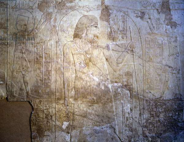Relief with portrait of Vizier Ramose - Thebes - Sheikh Abd al-Qurna Tomb of Ramose (n 55)