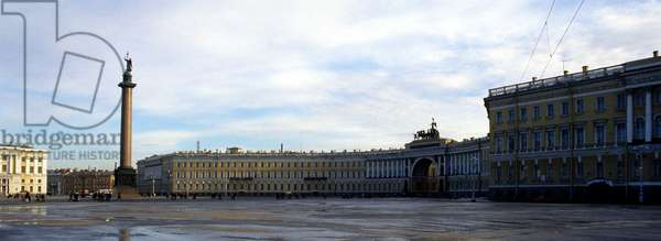 Hermitage Square, Saint Petersburg.