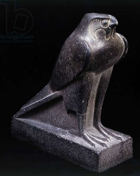 God Falcon, Granite, unknown place - Cairo Museum of Egypt