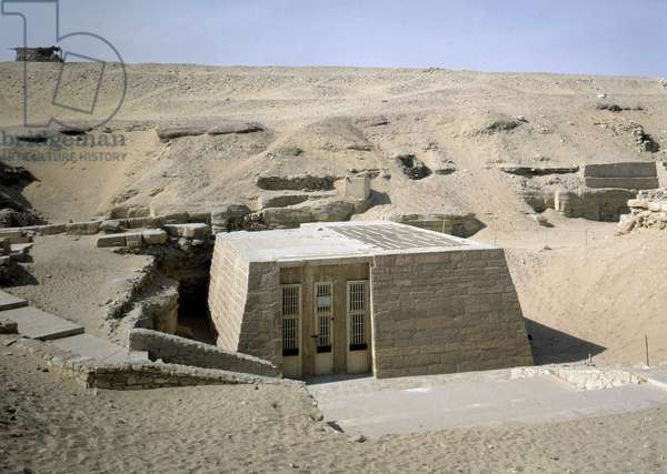 Saqqara (Sakkara) - Mastaba of Niankhnum and Khnumhotep Exterior.