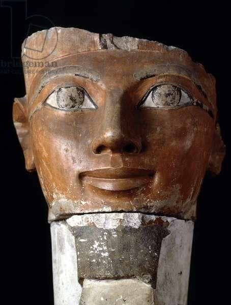 Queen Hatshepsut (Hatshepsut), Deir al-Bahari, Cairo Museum of Egypt.
