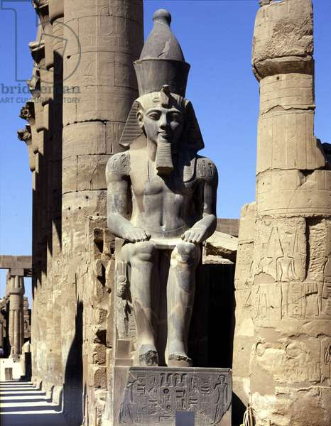 Temple Colossal Statue of Ramses II - Louksor or Luxor