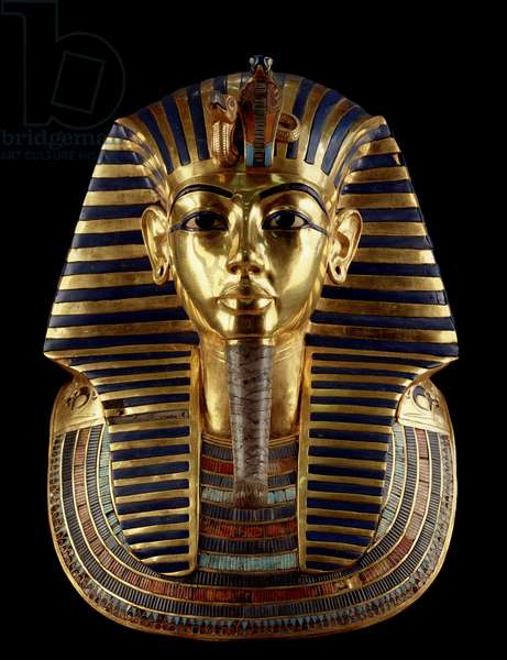 Funeral mask of Tutankhamun, Thebes - Museum of Egypt, Cairo