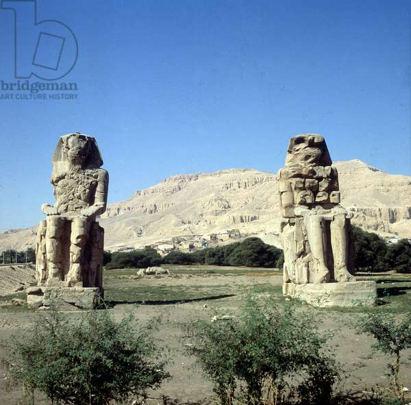 Colossus Thebes of Memnon