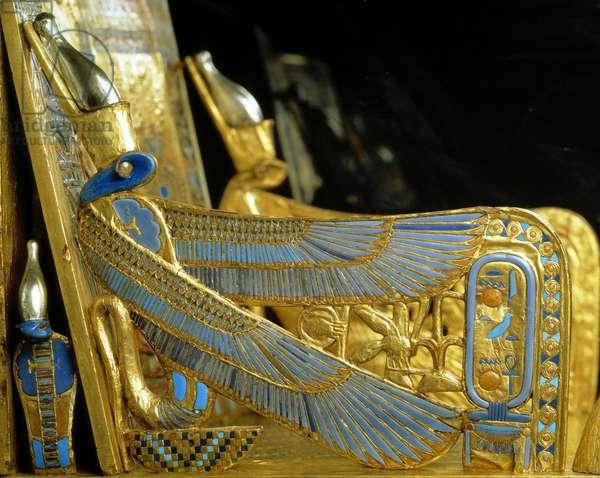 Throne of Tutankhamun (detail), Thebes - Museum of Egypt, Cairo