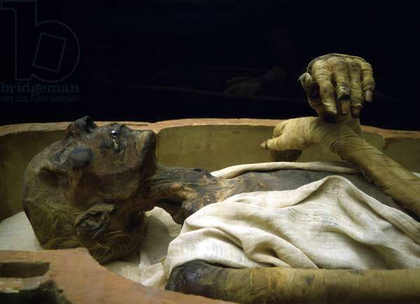 Mummy of Ramses II - Museum of Egypt, Cairo