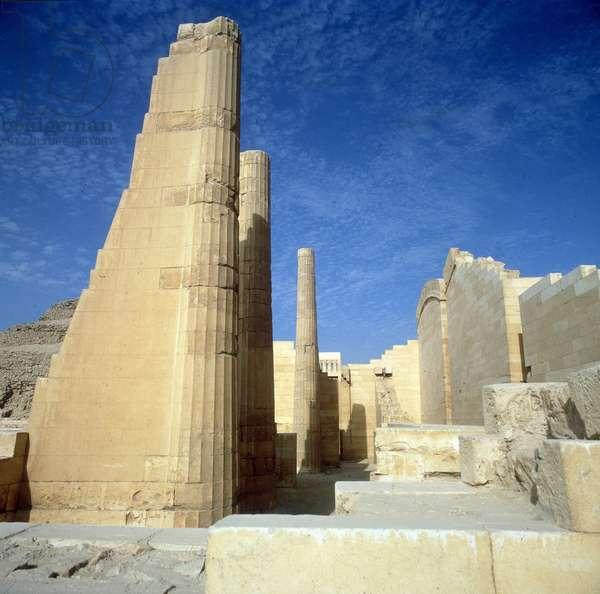 Saqqara (Sakkara) Ensemble of Djoser (=Zoser or Djeser). General views and details