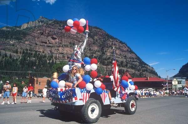 Parade, July 4th, Ouray, Colorado (photo)