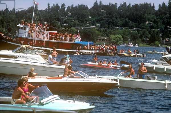 Seafair, Summer Celebration, Seattle, Washington (photo)