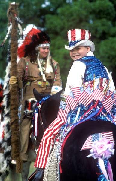 Parade, July 4th, St. Paul, Oregon (photo)