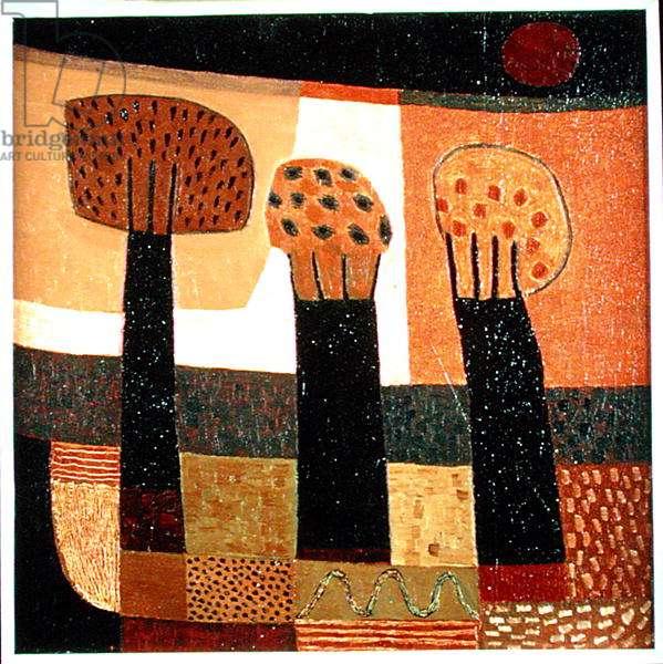 Three Trees, 1999 (oil on canvas)