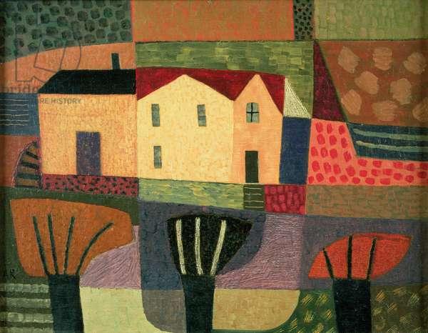 The Mill, 2000 (oil on hardboard)