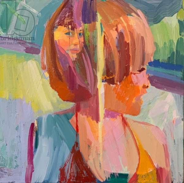 Interiority, 2021, (oil on canvas)