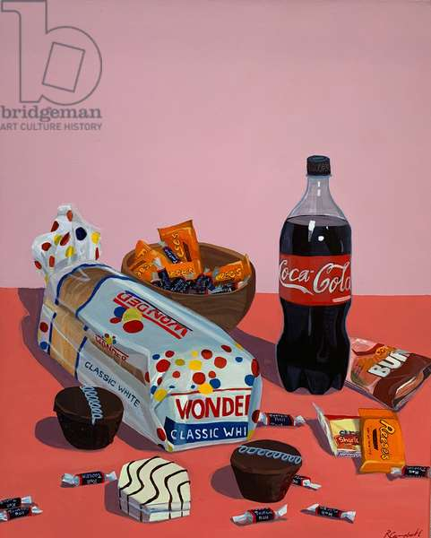 Still life with Bread and Confectionary after Flegel