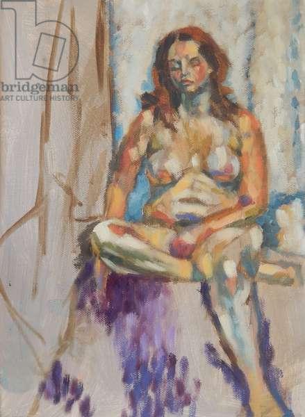 Caroline, 2010, (oil on canvas)