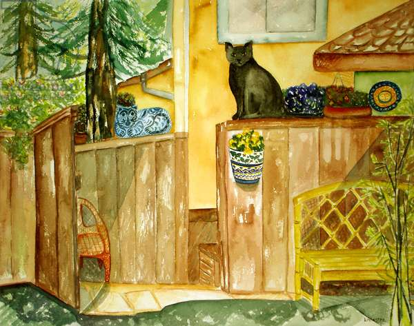 Afternoon, 1999 (watercolor)