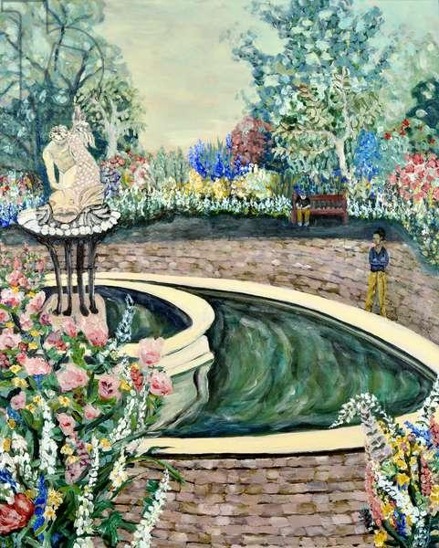 Queen's Garden, 2020, acrylic