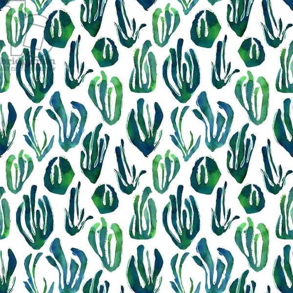 sea grass; 2015; watercolor on paper