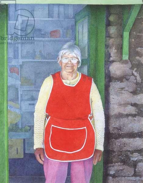 Joyce Thomas (w/c on paper)