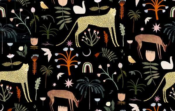 Wild Garden Pattern, 2018