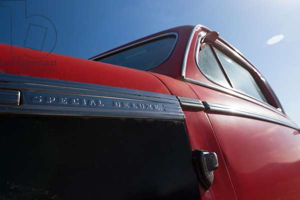 Red Classic car, 2011, (photograph)