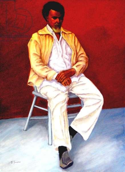 Dreadlocks, 1999, (oil on canvas)