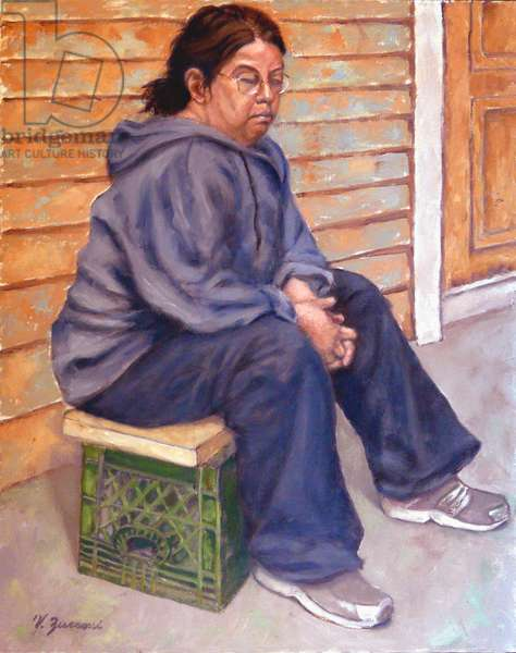 Betty, 2011, (oil on canvas)