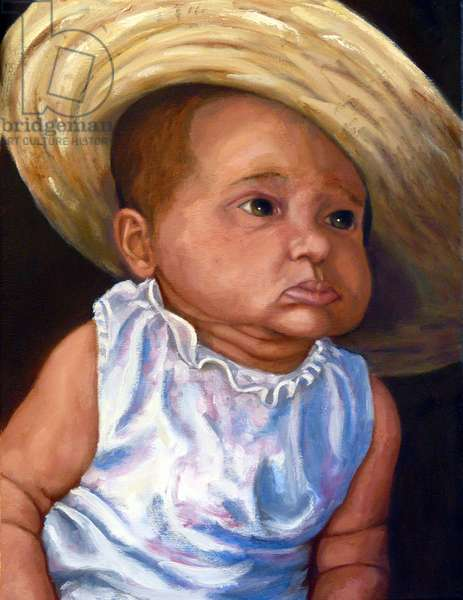 Avery, 2016, (oil on canvas)