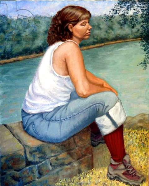 The Overlook, 2003, (oil on canvas)