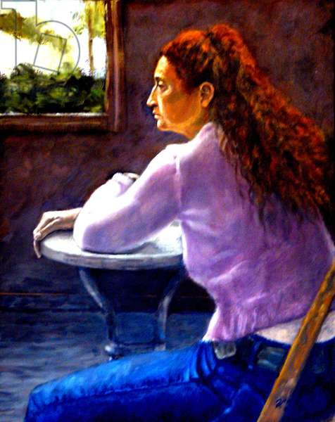 Isolation, 2007, (oil on canvas)